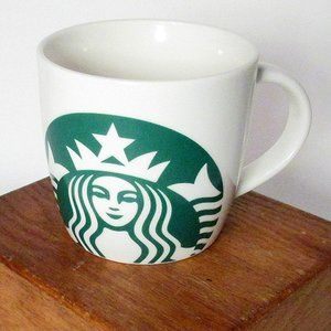 Starbucks Green Mermaid Ceramic Mug 14 oz